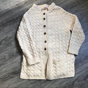 🐑 Mary T's Irish Wool Sweater 🐑